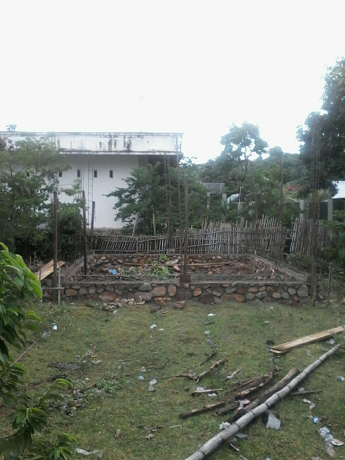Foto : Pembangunan Gedung Posyandu 25%